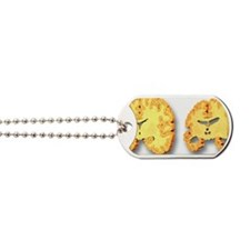 Alzheimer's disease, artwork Dog Tags