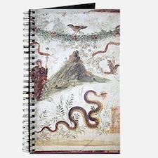 Bacchus and Vesuvius, Roman fresco Journal
