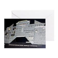 Apollo control panel Greeting Card