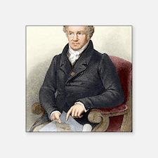 """Alexander von Humboldt, Ger Square Sticker 3"""" x 3"""""""
