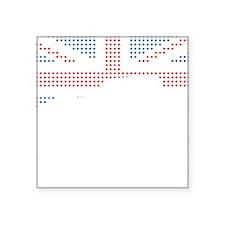 "Austin-Healey Frogeye Sprit Square Sticker 3"" x 3"""