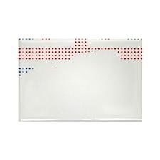 Austin-Healey Frogeye Sprite mk1  Rectangle Magnet