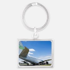 Airbus A380 Landscape Keychain