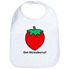 Got Strawberry? Bib