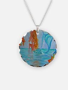 The Wisdom Seeker Mermaid  b Necklace