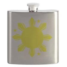 Sun and stars Flask