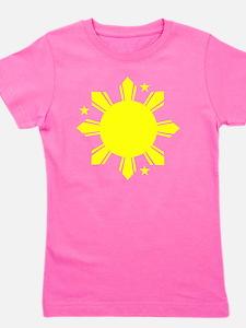 Sun and stars Girl's Tee