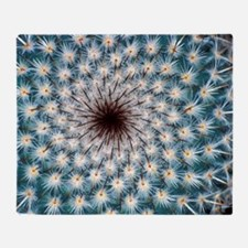 Cactus spines Throw Blanket