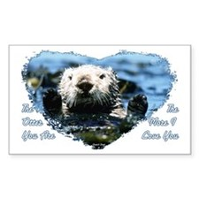 The Otter You Are Decal