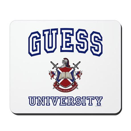 GUESS University Mousepad