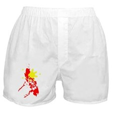 Sun and Map Boxer Shorts