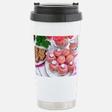 Cakes for afternoon tea Travel Mug