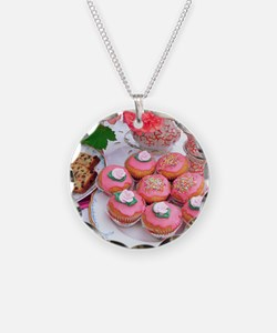 Cakes for afternoon tea Necklace