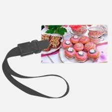 Cakes for afternoon tea Luggage Tag