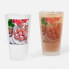 Cakes for afternoon tea Drinking Glass