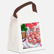 Cakes for afternoon tea Canvas Lunch Bag