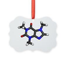 Caffeine molecule Ornament
