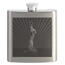 Art Deco Corset Glamour Flask