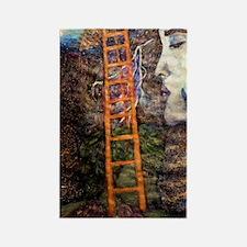 Ladder from the Angels Shoulder Rectangle Magnet