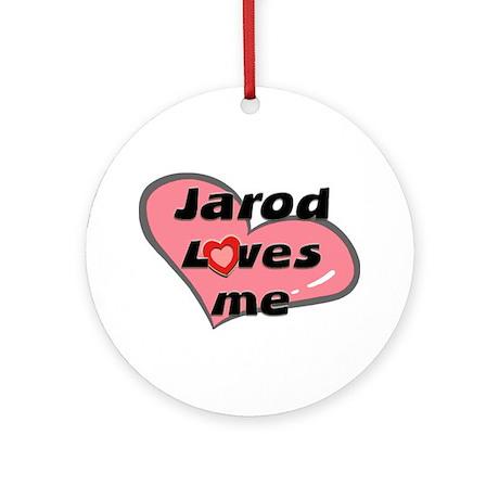 jarod loves me Ornament (Round)