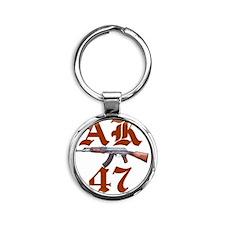 AK47 Round Keychain