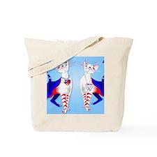 An American Cat Tote Bag