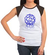 Buckyball molecule Women's Cap Sleeve T-Shirt