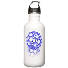 Buckyball molecule Water Bottle
