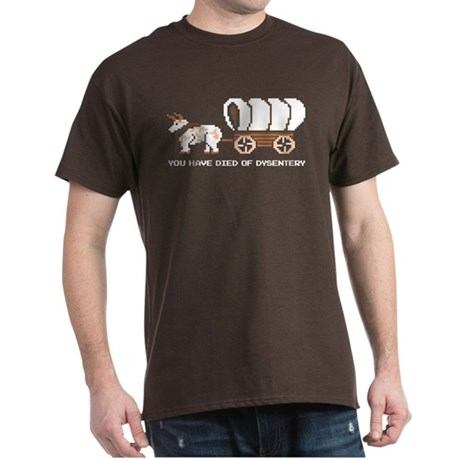 Oregon Trail: You have died o Dark T-Shirt