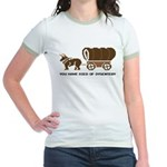 Oregon Trail: You have died o Jr. Ringer T-Shirt