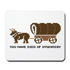 Oregon Trail: You have died o Mousepad