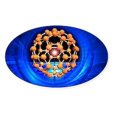 Buckminsterfullerene molecule Decal