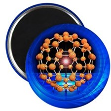 Buckminsterfullerene molecule Magnet