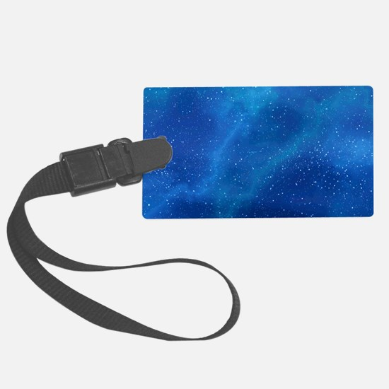 Brownian motion, artwork Luggage Tag