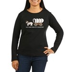 Oregon Trail: You have died o Women's Long Sleeve