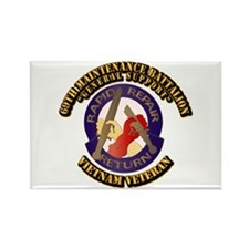 Army - 69th Maintenance Bn Rectangle Magnet