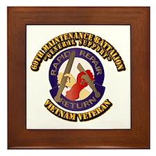 Army - 69th Maintenance Bn Framed Tile