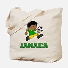 Jamaica Football (Soccer) Child Tote Bag
