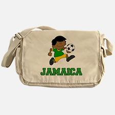 Jamaica Football (Soccer) Child Messenger Bag