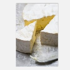 Brie slice and cheese kni Postcards (Package of 8)