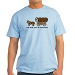 Oregon Trail: You have died o Light T-Shirt