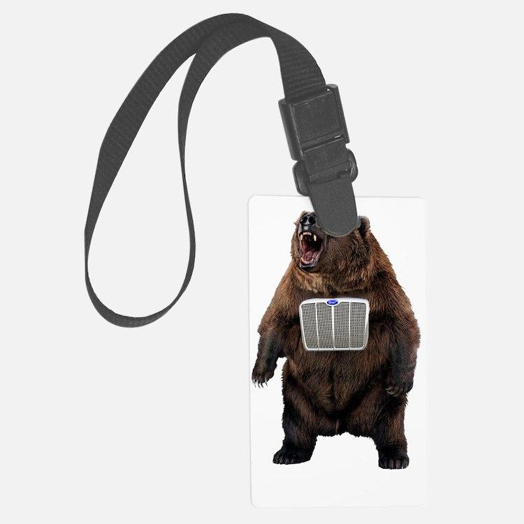 Grill Bear Luggage Tag