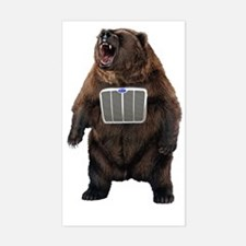 Grill Bear Decal