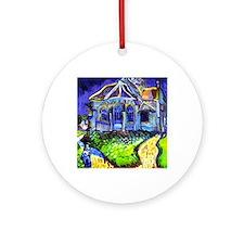 Van Gogh Fine Art Reproduction Chur Round Ornament