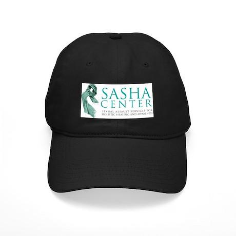 SASHA Center Gear Black Cap