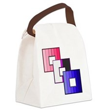 Genderfluid Pride Canvas Lunch Bag