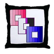 Genderfluid Pride Throw Pillow