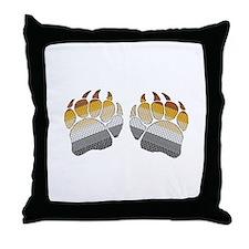 1 SET BEARS PRIDE PAWS Throw Pillow