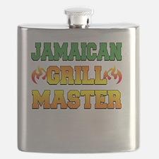 Jamaican Grill Master Dark Apron Flask