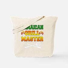 Jamaican Grill Master Dark Apron Tote Bag
